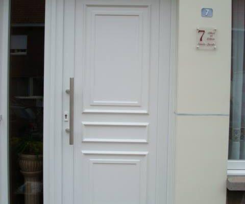 Omnisolutions - Voordeur wit