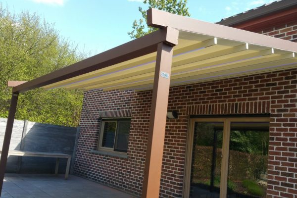 Omnisolutions - Harol - Patio level Corten staal