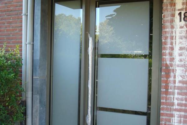Omnisolutions - voordeur met zijlicht