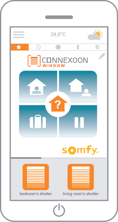 Connexoon app Window