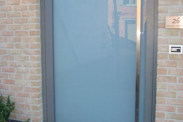 Omnisolutions - voordeur glas pivoterend
