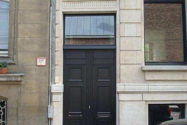 houten deur