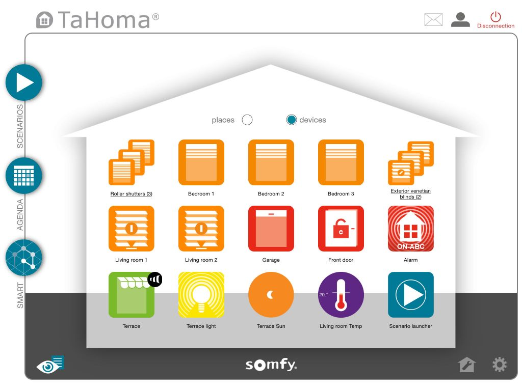 Tahoma interface