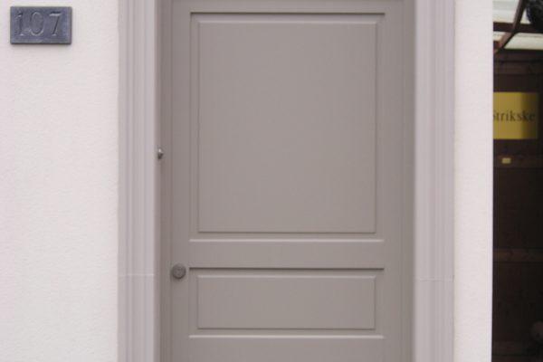 houten voordeur Omnisolutions